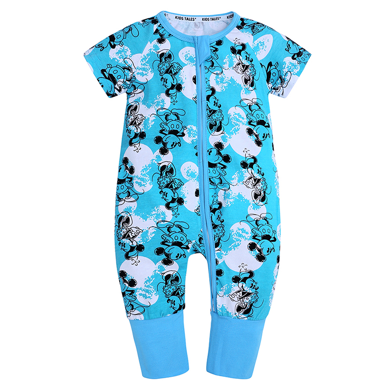 NEW Baby Boy Girl Clothing Lucky Child Cotton Rompers Set Newborn Baby Girl Summer Clothes New Born Baby Boy Girl Top Jumpsuits