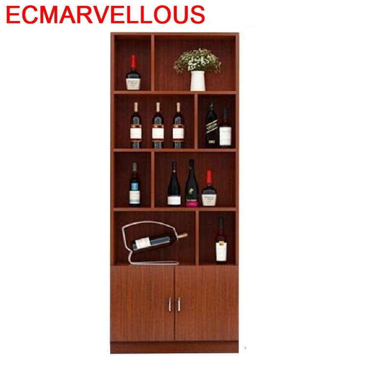 Desk Gabinete Mesa Cristaleira Vetrinetta Da Esposizione Storage Sala Kast Meube Shelves Mueble Bar Furniture Shelf Wine Cabinet