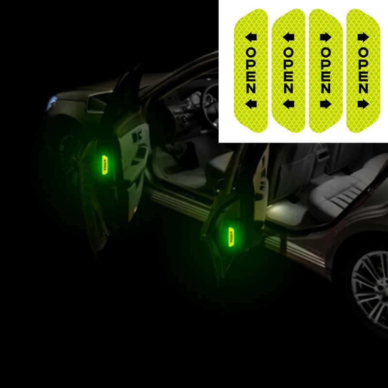 Autocollant de porte de voiture autocollant ruban d'avertissement pour alfa 159 peugeot 807 corolla verso a6 c6 suzuki opel zafira a tucson xc60 ford c-max