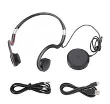 BN802骨伝導イヤホン老人ヘッドセットスポーツ内蔵バッテリーサウンドアンプ補聴器ヘッドホン