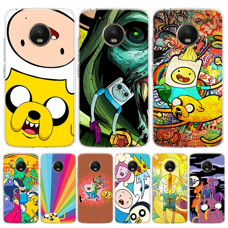 Adventure Time Special Cover Phone Case For Motorola Moto G8 G7 G6 G5S G5 E6 E5 E4 Plus G4 Play EU One Action X4 Pattern Coque