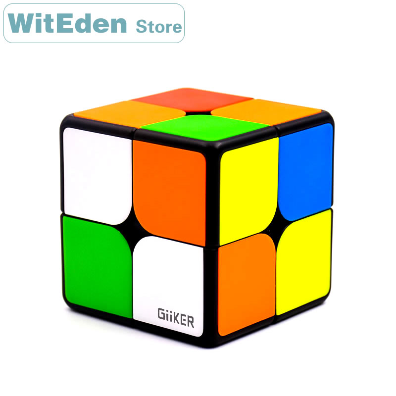Giiker 2x2x2 Magnetic Magic Cube I2 Smart Upgrade Super 2x2 AI Bluetooth Connection APP Intelligent Speed Cube Puzzle Toys