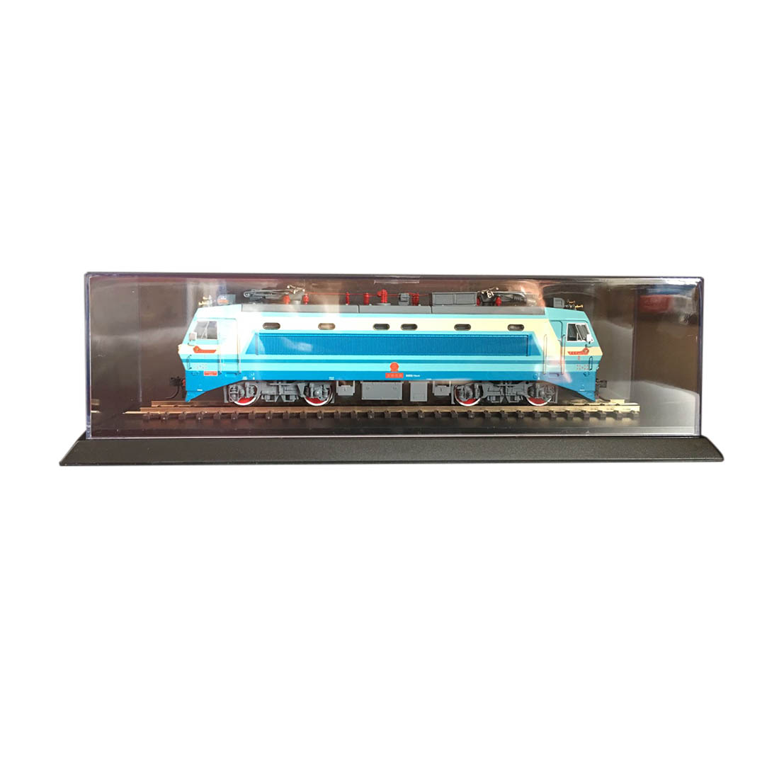 25.7 X 6.6 X 6cm HO Scale Model Train Display Case Showcase With 55201 Old Orbitals (Excluding Train) Educational Toy For Kid