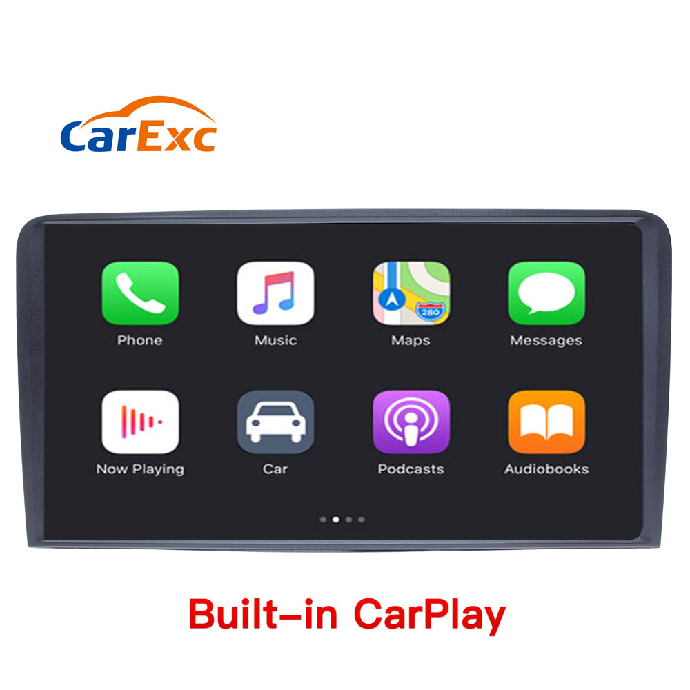 Spezielle Auto DVD GPS Navi Mit CarPlay Für <font><b>Audi</b></font> <font><b>A3</b></font> <font><b>8P</b></font> 2003-2012 S3 2006-2012 RS3 sportback 2011 multimedia player stereo <font><b>radio</b></font> image