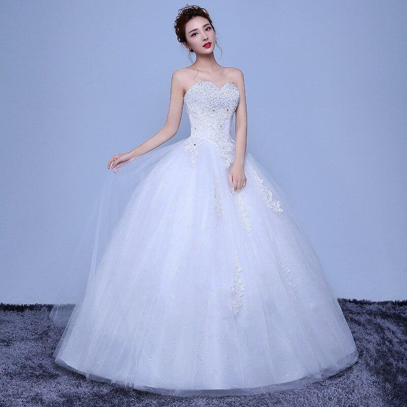 Sweetheart 2019 Elegant Luxury Lace Wedding Dress Vintage Plus Size Ball Gowns Vestido De Noiva