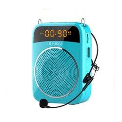 High quality portable Voice amplifier multifunction 15W teacher voice amplifier for teacher coach yoga tour guide usage