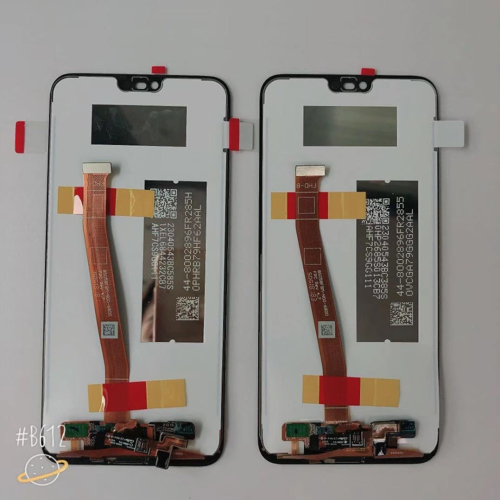 Hba74a688671f4264bf345b9a1a336b57V 100% Original Tested New For 5.84' Huawei Honor 10 COL-L29 LCD Display +Touch Screen Digitizer Assembly Replacement +fingerprint