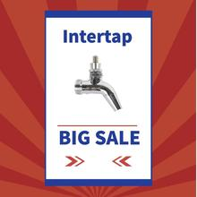 BEER TAP High quality  SS  INTERTAP TAP ONLY   free tap handle included,home brewing tap