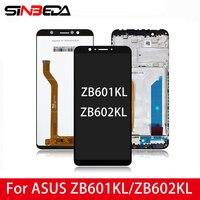 Originele 5.99 ''Voor Asus Zenfone Max Pro ZB601Kl (M1) ZB602KL Lcd Touch Screen Digitizer Vergadering Voor Asus ZB601Kl Lcd Display