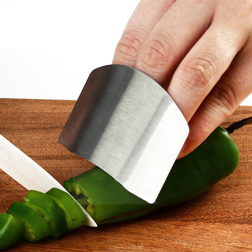 Stainless Steel Finger Guard Protect Finger Hand Finger Hand Protector Safe Slice Knife Cutting Finger Protection Kitchen Tool Finger Protectors Aliexpress