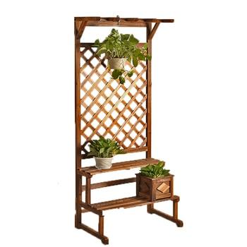 Plantenstandaard Estante Living Room Repisa Para Plantas Rack Stojaki Stojak Na Kwiaty Balcony Dekoration Shelf Flower Stand