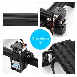 Image 2 - 20W 레이저 조각 기계 고속 데스크탑 레이저 조각기 프린터 휴대용 가정용 예술 공예 DIY 레이저 조각 커터
