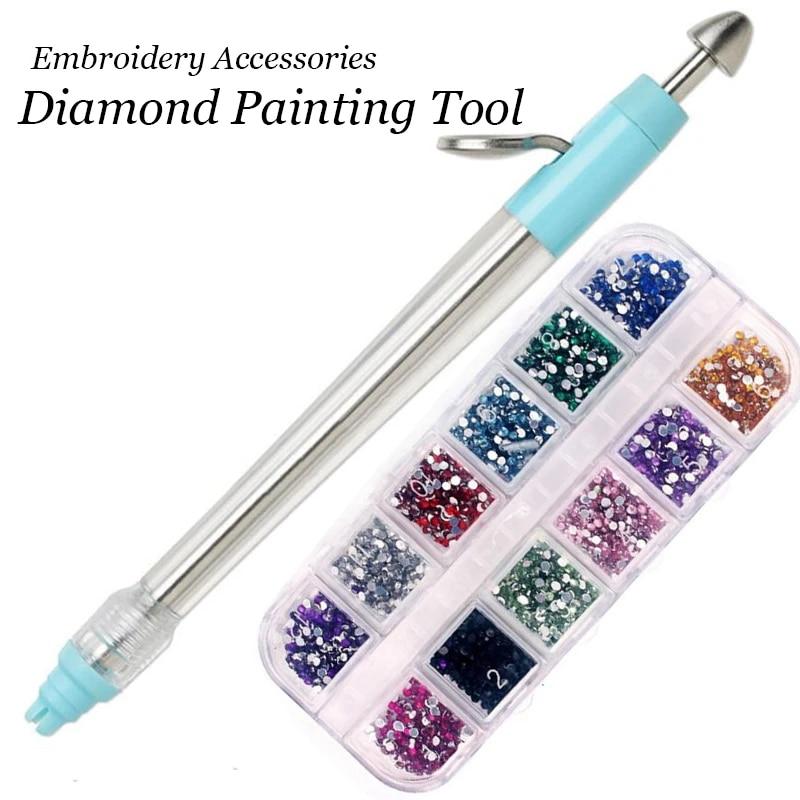 Diamond Painting Cross Stitch Embroidery Tool Manual Point Drill Pen Rhinestone