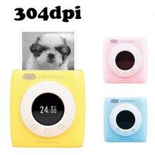 PAPERANG P2s 포켓 미니 58mm 휴대용 블루투스 프린터 사진 프린터 HD 열 라벨 기계 알람 시계 시간표