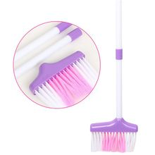 6Pcs Child Cleaning Sweeping Play Set Mop Broom Bucket Brush Dustpan Kits Kids Q6PD