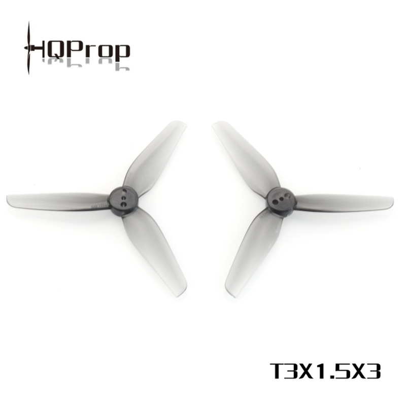 12Pairs 24PCS HQProp HQ Durable Prop T3X1.5X3 3015 3 Inch 3-blade PC Propeller For RC Drone FPV Racing Toothpick Cine Whoop