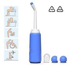 Ручной распылитель для дома и беременных, биде, портативная длинная насадка, точный детский вместительный туалет, дорожный Личный очистите...