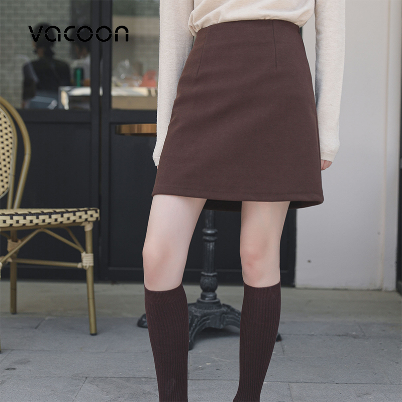 New Female Skirts Spring  Arrival Vintage Temperament A-line Office Mini Skirts