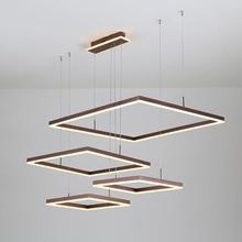 Brown/Gold Creative Modern led pendant lights For Diningroom Livingroom kitchen lamp lamparas de techo colgante moderna