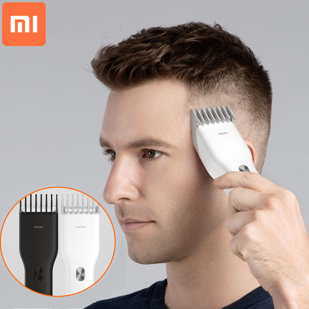 Xiaomi ENCHEN Boost USB Electric Hair Clipper Charging Hair Trimmer Children Clipper Mijia 2 Speed Ceramic Cutter Hair Cutting