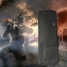 屋外スポーツ戦術ライフル銃ケース 85 センチメートル/100 センチメートル狩猟バッグガンキャリーショルダーポーチエアガン軍ミリタリー保護袋