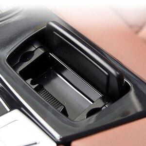 Image 3 - Auto Posacenere Nero di Plastica Center Console Posacenere Scatola di Montaggio Adatto per BMW 5 Serie F10 F11 F18 520 51169206347