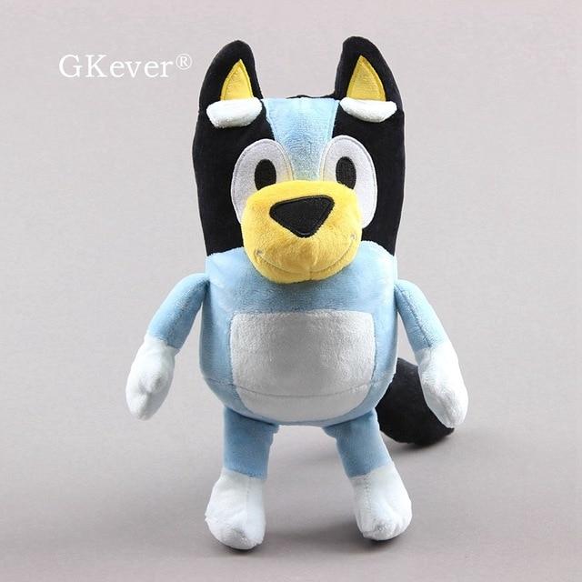 28 cm Cartoon Bluey Soft Plush Toys Bingo Cute Lovely Dogs Peluche ToysStuffed Animals Kids Gift