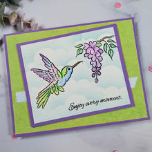 Hummingbird Hello New 4x6inch Transparent Silicone Clear Stamp For Scrapbooking DIY Craft Decoration Soft Photo Album