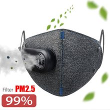 Air Purifier HEPA Filter Purely Mask Smog PM2.5 Removal Anti Dust Adult Electric Anti-smog For Xiaomi