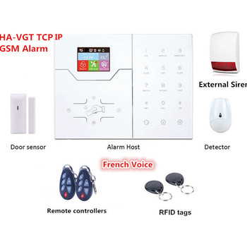 2019 Advanced TCP IP Alarm GSM Intruder Alarm Security Alarm Smart Home burglar Alarm System With External Strobe Siren owlcat buzz sfb 55 dc6 12v high decibel alarm siren security electronic burglar buzzer buzzerphone 55 50mm freeshipping