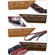 Medium Large Dog Dog Hand Holding Rope with Golden Retriever Labrador Cow Leather Collar Dog Rope Dog Chain Supplies(China)
