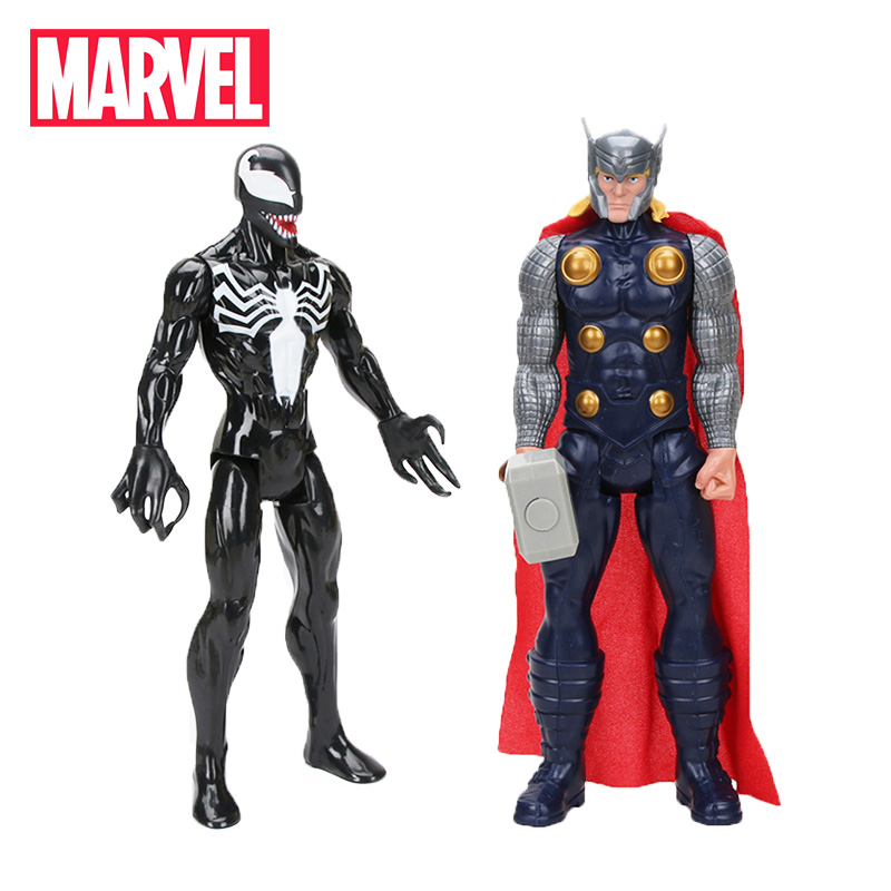 Model-Dolls Action-Figure Venom Titan 30cm-Marvel Avengers Spider-Man Collectible Set-Of-2 title=