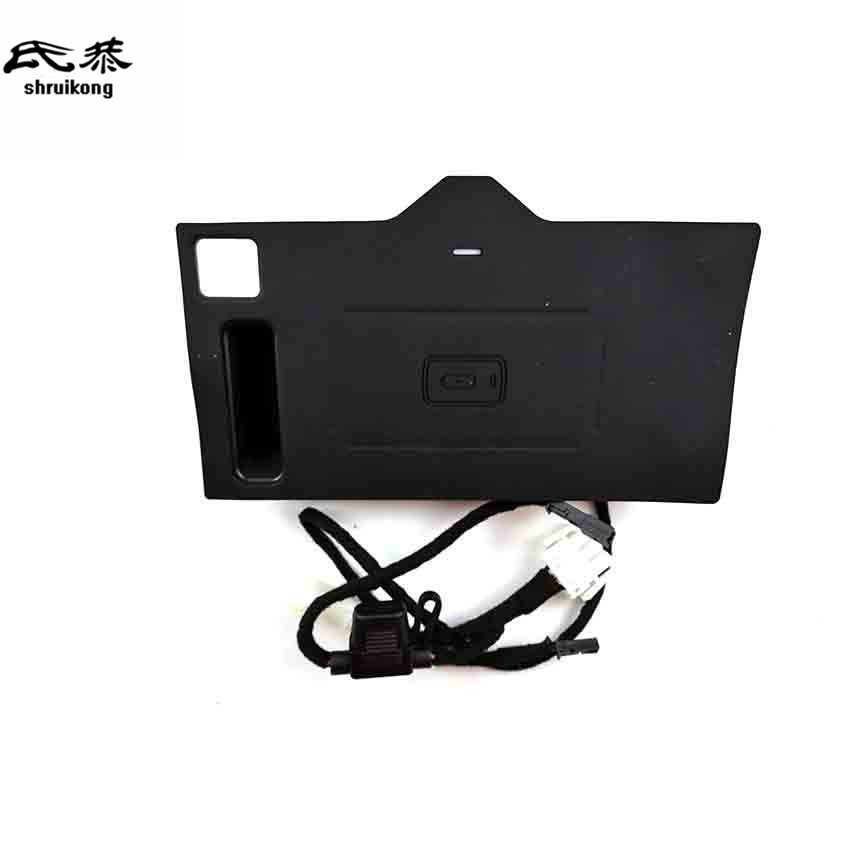 Mobile phone QI wireless charging Pad Module Car <font><b>Accessories</b></font> For <font><b>BMW</b></font> <font><b>X3</b></font> G01 <font><b>2018</b></font> 20i 30i 20d 30 image