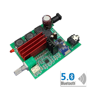 Image 4 - TPA3116D2 Bluetooth 5.0 Amplifier Audio Board Qcc3003 50W*2 Digital Power Amplifier 2.0 Channel Stereo Amp DC8 25V T0745