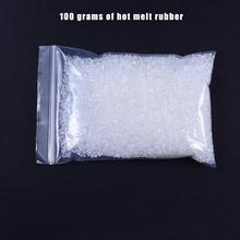 Горячий 100 г Кератиновый клей зерна высокой вязкости белый экологически чистый нетоксичный Кератиновый клей для жемчужного хлопка