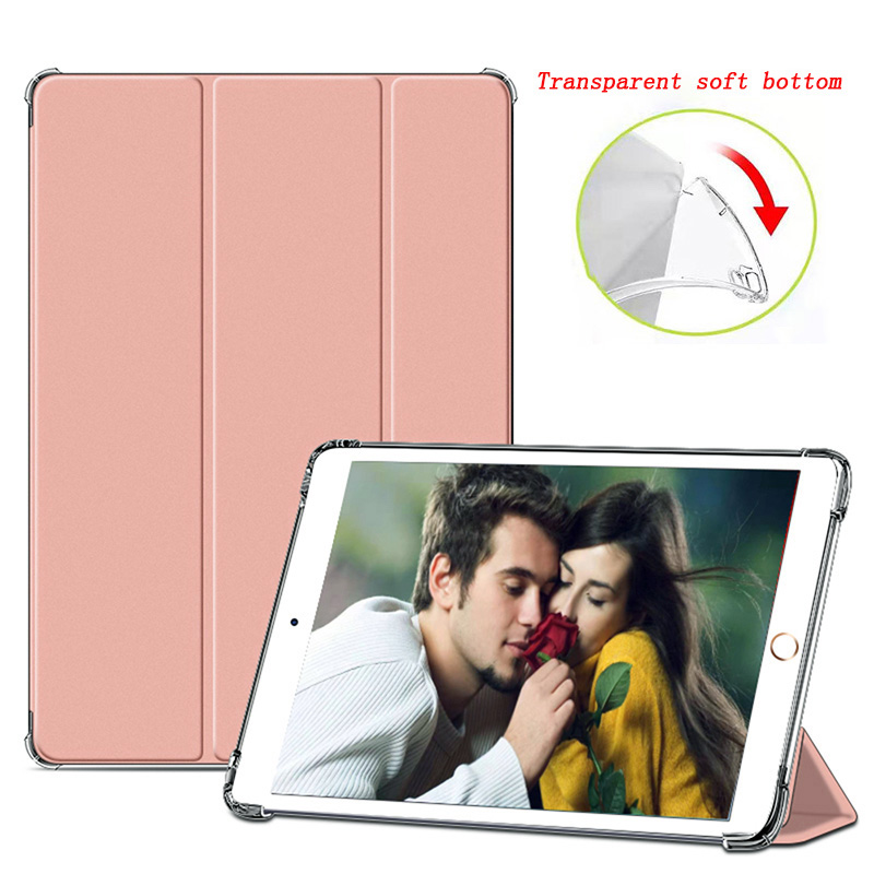 Rose Gold 1 White 2020 case For iPad 10 2 inch 8th 7th Generation model A2270 A2428 Silicone soft bottom