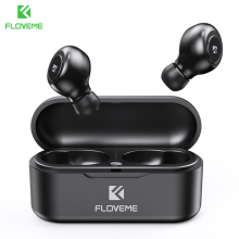 FLOVEME TWS 5.0 Wireless Headset Bluetooth Earphone Headphones For Smart Phone Earphones Stereo Sound Earbuds Dual