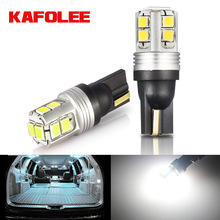 Car LED Non-Polar No-Error Bulbs License-Plate-Lamp Super-Bright 168 194 Reading Auto-Clearance-Door