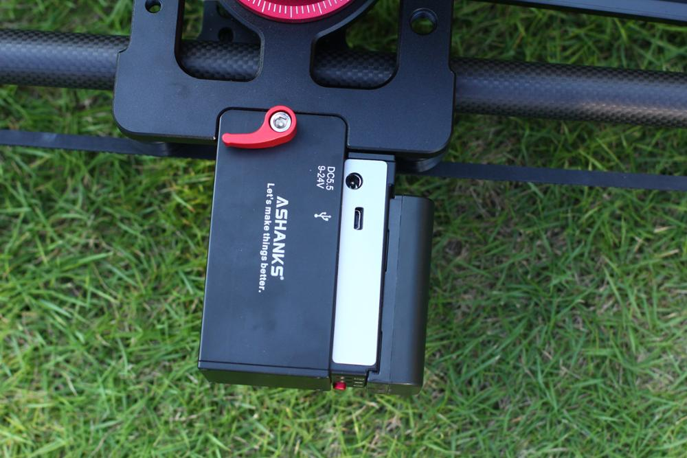 ASHANKS Bluetooth cámara de carbono deslizamiento seguimiento enfoque motorizado Control eléctrico retardo deslizador carril de la pista para la fotografía de Timelapse - 6