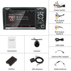 Image 4 - Bosion Android 10.0 samochodowy odtwarzacz DVD GPS dla Audi A3 8P 2003 2012 S3 2006 2012 RS3 Sportback 2011 odtwarzacz multimedialny wieża Stereo