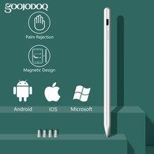 Universal Stylus Stift für iPad Bleistift Palm Ablehnung, touch Stylus Stift für Android IOS Tablet für Apple Bleistift 2 1 Telefon Oberfläche