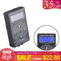HP-2 Alimentazione elettrica Del Tatuaggio Digitale di Alimentazione del Display LCD Nero/Argento/Bianco Per I Kit Macchina