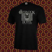 Fashion Men T Shirt Free Shipping New THE SHINING Inspired OVERLOOK HOTEL Shirt, Horror, Stephen King, Halloween Tee