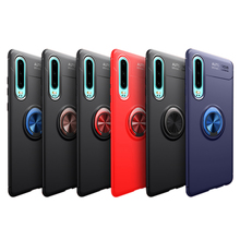 phone case with Finger Ring For Huawei P30 Pro Case Car Holder Stand Magnetic Bracket TPU Cover Lite