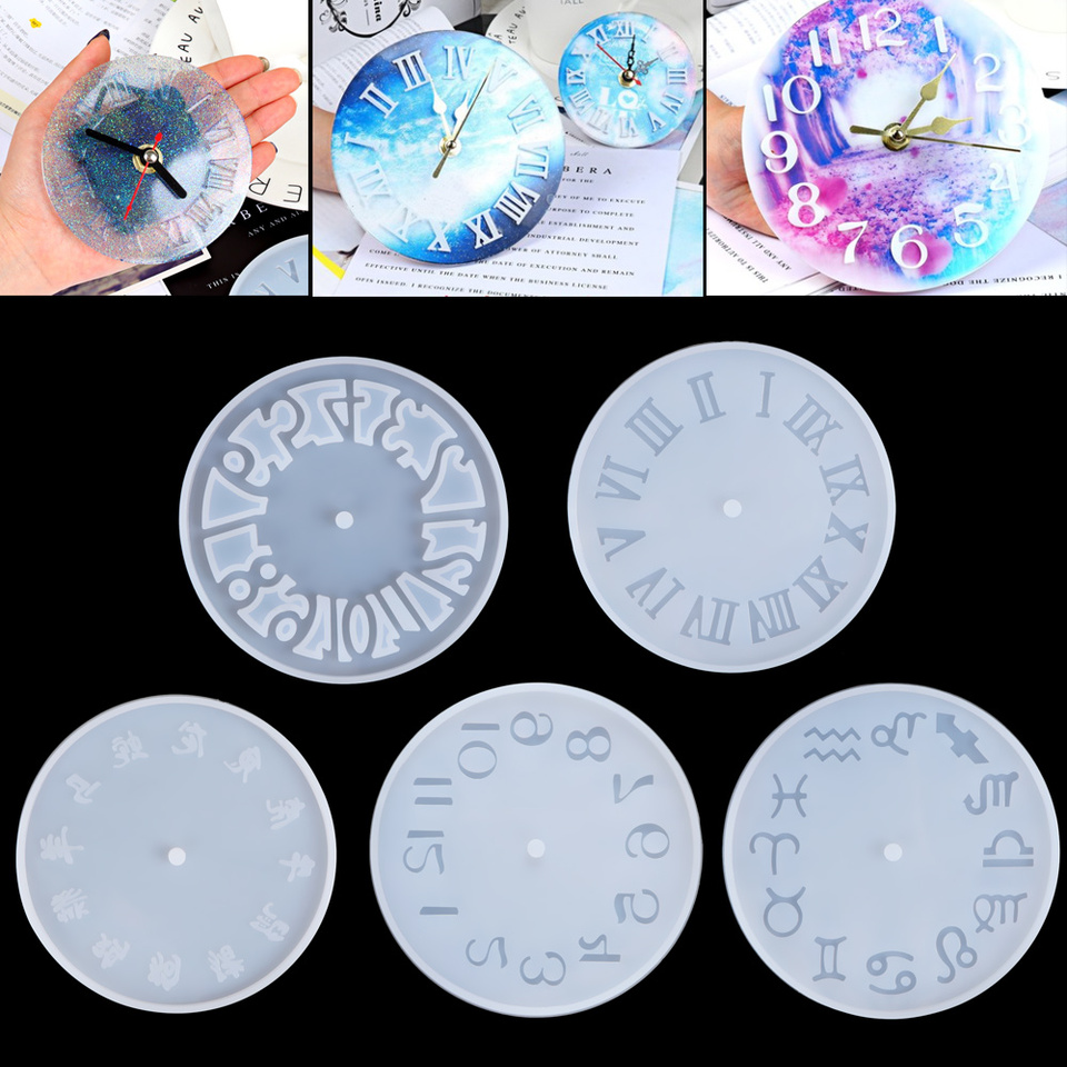 Props Epoxy DIY Silicone Casting Mould Silica Gel Mold Resin Molds Crystal Glue