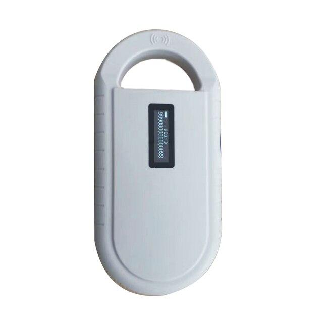 Сканер микрочипов для домашних животных ISO11785/84, считыватель радиочастотных чипов для собак, считыватель котов, сканер для животных