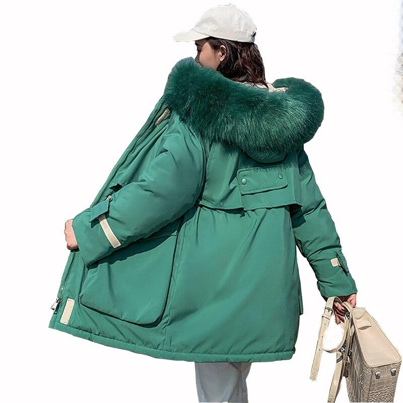 2019 Parkas Women Down Cotto Jacket Winter Jacket Women Thick Snow Wear Winter Coat Lady Clothing Female Jackets Parkas