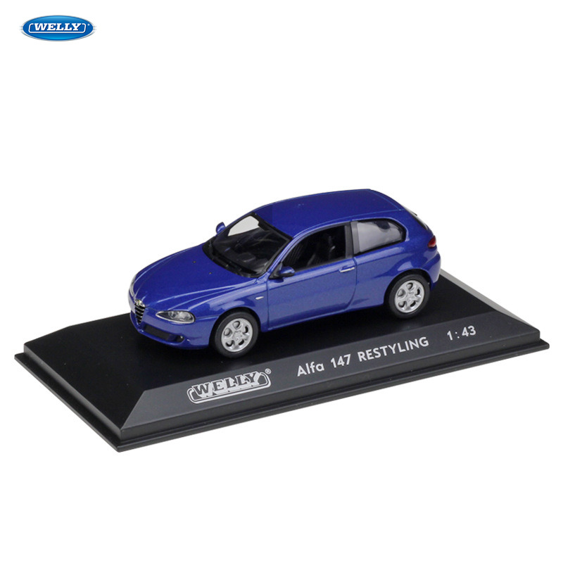 WELLY  1:43 Aifo 147 RESTYLING car alloy model simulation decoration collection gift toy Die casting boy