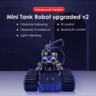 2020 NEW Upgraded!Keyestudio DIY Mini Tank Robot V2.0 Smart Robot car kit for Arduino Robot STEM /Support IOS &Android APP
