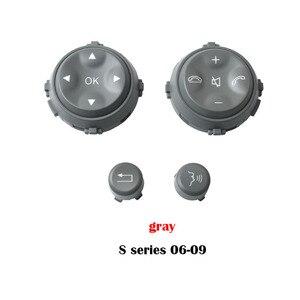 Image 4 - Car Styling Multi Funzione Volante Tasto di Chiave Chiave Del Telefono Pulsante di Controllo per Mercedes Benz W221 S CLASS S280 S300 s350 S400